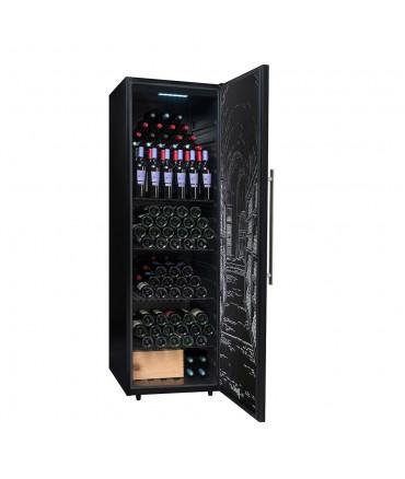 PCLP250 Cave polyvalente ou de vieillissement climadiff 248 bouteilles pleine