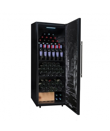 PCLP205 Cave polyvalente ouverte 204 bouteilles climadiff