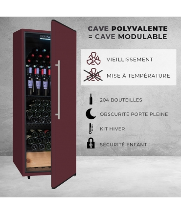CDP204 climadiff Cave polyvalente avantages