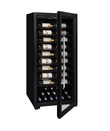 PRO100 Cave polyvalente modulable 98 bouteilles (pleine entrouverte)