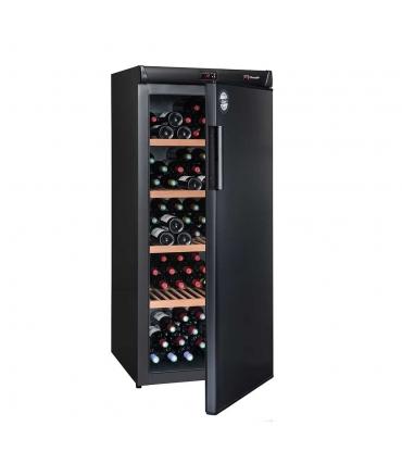 Cave de vieillissement CVP185A++ porte semi-ouverte pleine - 180 bouteilles
