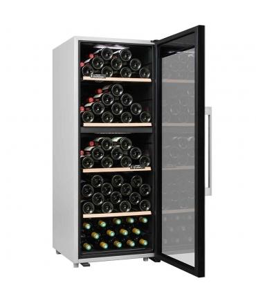 Cave de service double zone 110 bouteilles CLS110MT CLiMADiFF porte ouverte