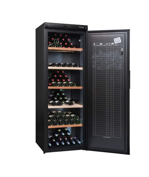 Cave à vin de vieillissement CVP268A++ porte - 264 bouteilles porte ouverte