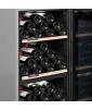 Cave de service double zone 110 bouteilles CLS110MT CLiMADiFF zoom clayettes