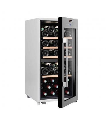 Cave de service double zone 41 bouteilles CLS41MT CLiMADiFF (porte semi-ouverte)