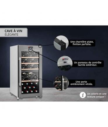 Cave de service double zone 41 bouteilles CLS41MT CLiMADiFF design