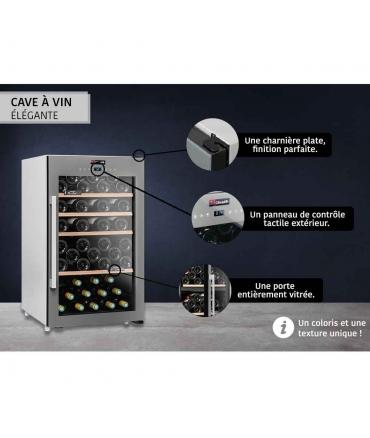 Cave de service 63 bouteilles CLS63 Climadiff design