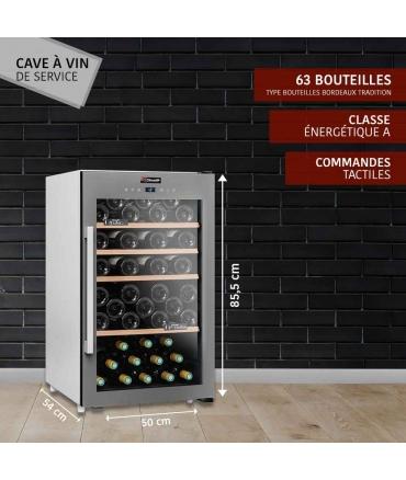 Cave de service 63 bouteilles CLS63 Climadiff présentation
