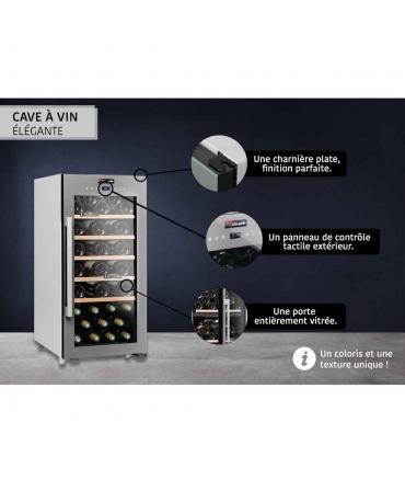 Cave de service 41 bouteilles CLS41 Climadiff design