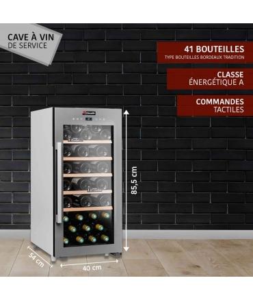 Cave de service 41 bouteilles CLS41 Climadiff présentation