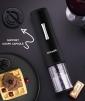 TB5020CL tire-bouchon électrique climadiff avec support coupe capsule