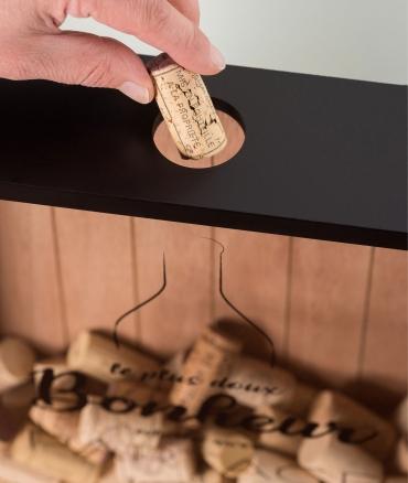 Cadre Collecteur de bouchon de vin Climadiff